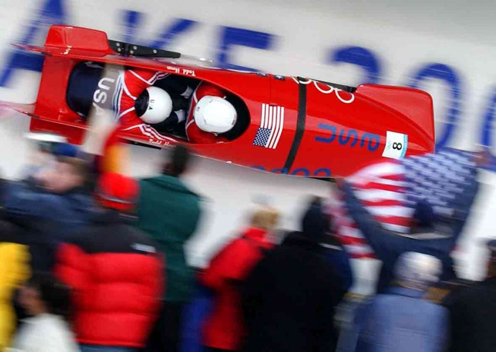The Angel and Devil of Opportunity: Reflections on a bobsleigh run