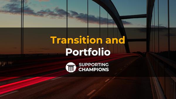 Transition-and-portfolio-title