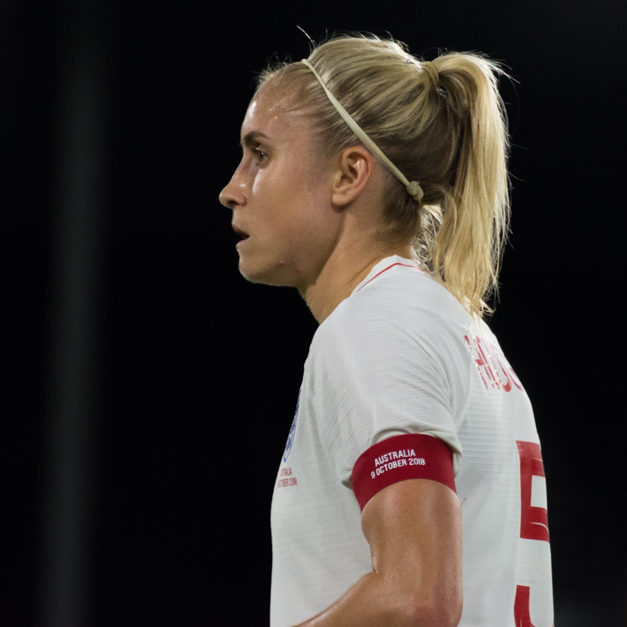 Women's international friendly - England vs Australia, Craven Cottage am 09.10.2018.