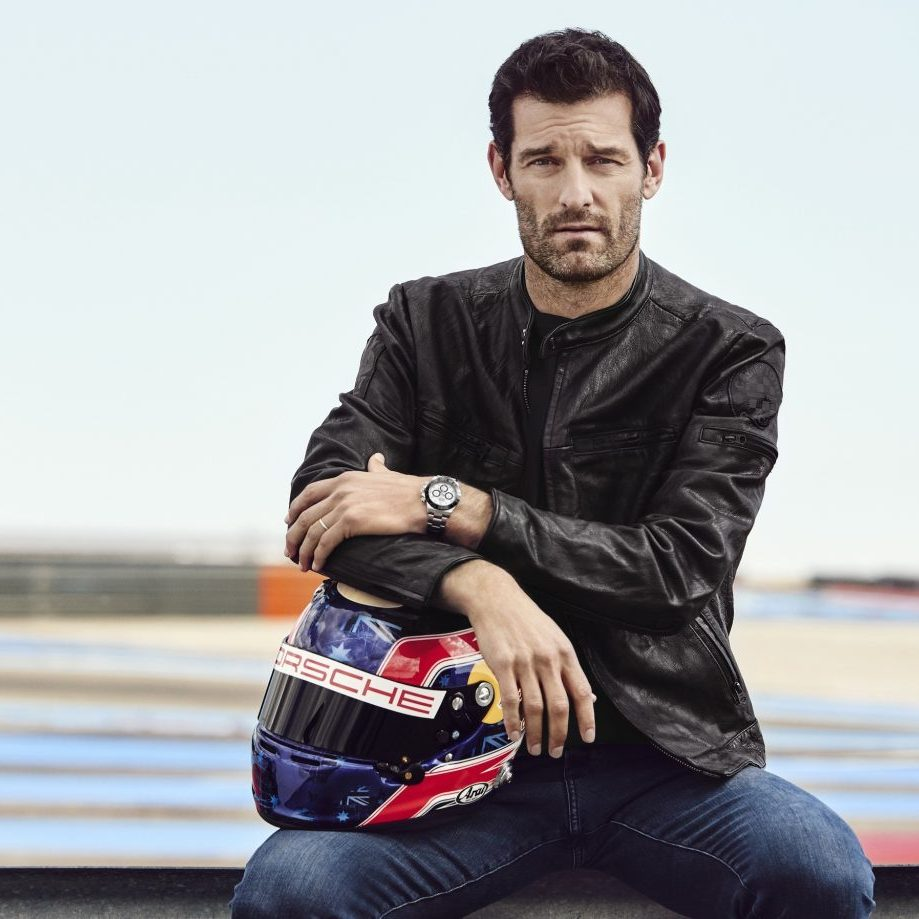- Rolex Testimonee Mark Webber, professional racing driver. He is wearing his own watch, an Oyster Perpetual Cosmograph Daytona