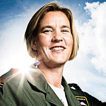 Mandy Hickson, Fighter Pilot, Winchester UK, 23 October 2013